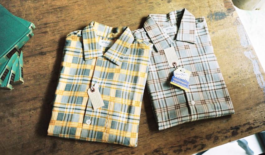 デッドストック 50年代 S/Sシャツ(タウントピックス)