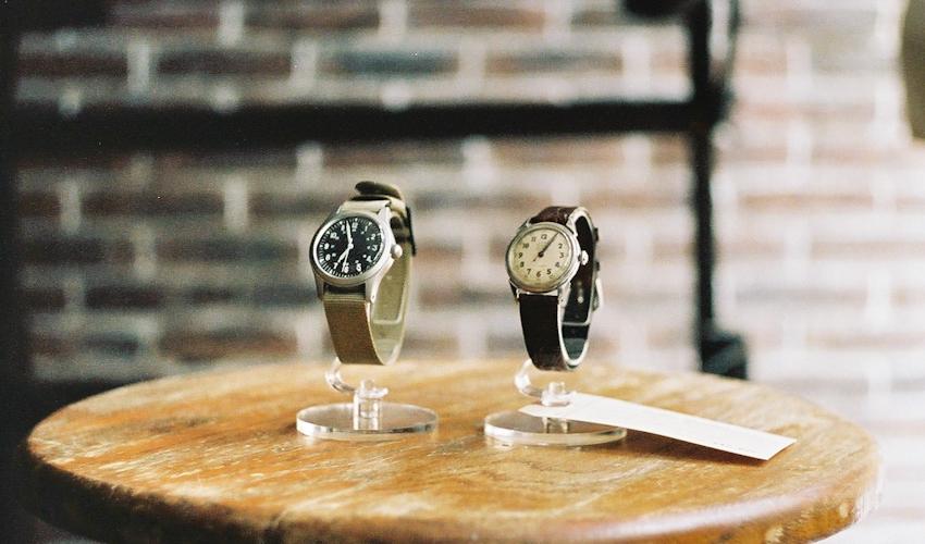 MWC ベトナム戦 ミリタリーウェッチ、40年代 ゾディアック 腕時計