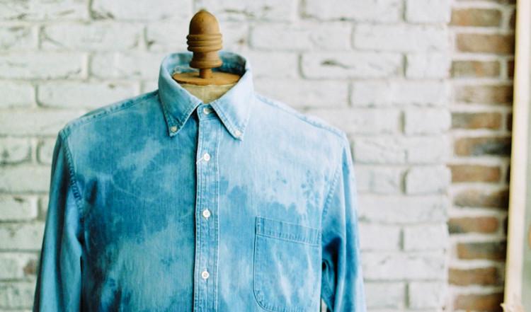 商品の紹介 : ブリーチ デニムシャツ