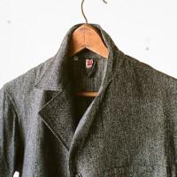 Black Chambrey coat -6