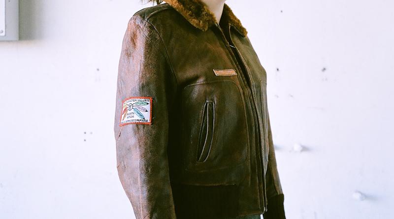 レディースサイズ  60年代 レザージャケット