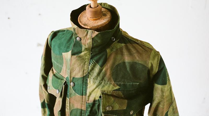 ベルギー 1950年代  カモフラージュ ジャケット