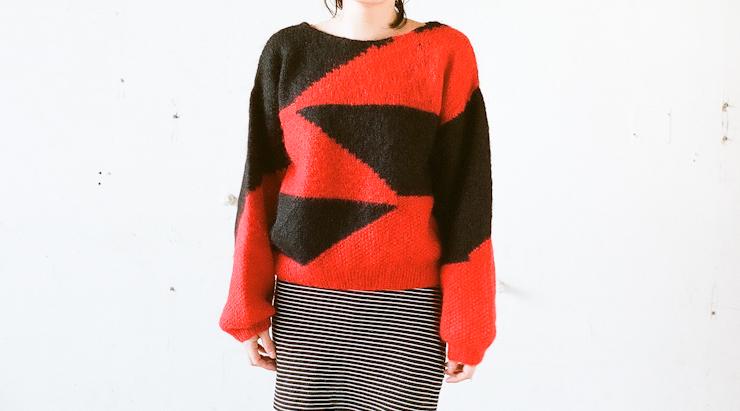 lady's knit-12