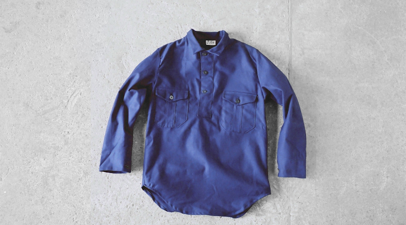 商品の紹介:1970′s スエーデン軍 プルオーバーシャツ
