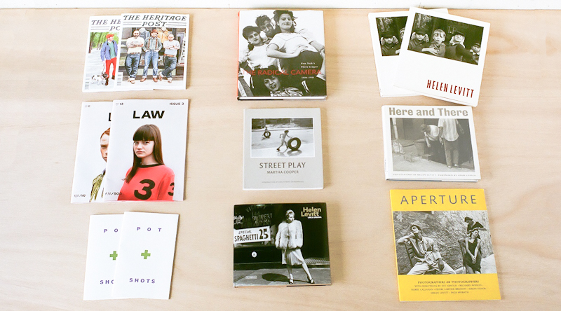 商品の入荷:書籍、写真集、ZINE など