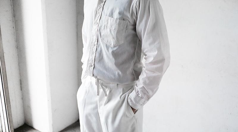 商品の紹介:ビンテージ 珍しいホワイトカラー グルカショーツ