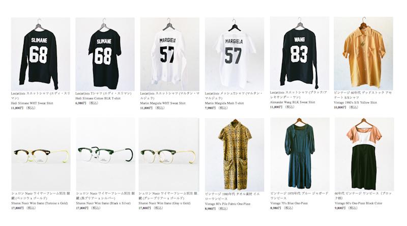 ウェブストアに、Les(art)istsスウェット,Tシャツ,シュロン別注,レディースワンピースなど追加