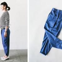kawano style-blue pants1