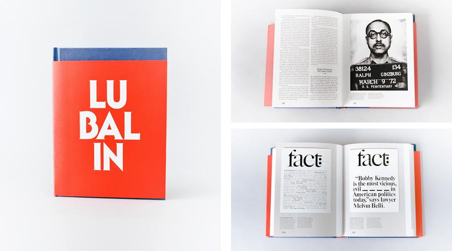 書籍の紹介:ハーブ・ルバリン アメリカングラフィックデザイナー(1918~81)
