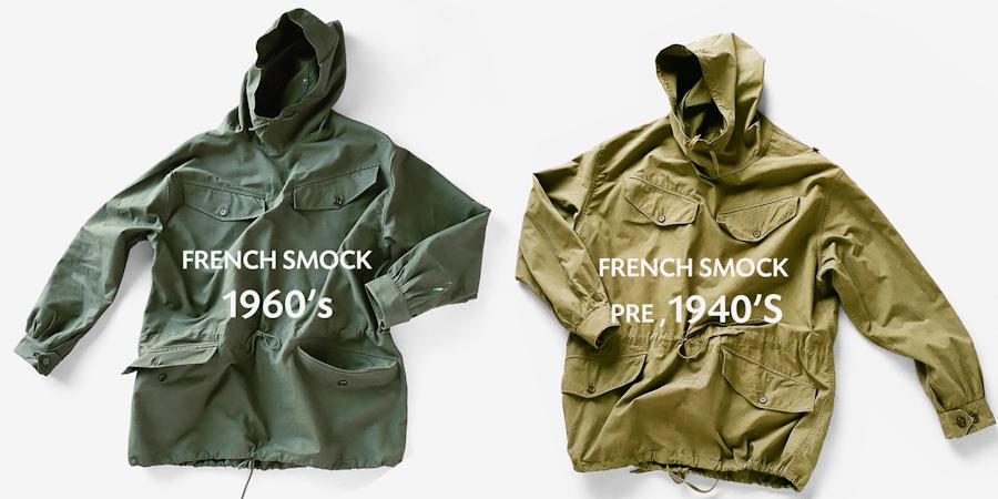 商品の入荷:デッドストック フランス軍 アノラックパーカー