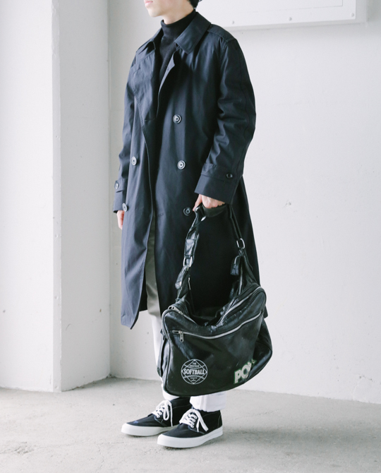US Trench Coat Blk-6