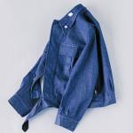 商品の紹介:ビンテージ 1970年代 イタリア軍 デニムジャケット