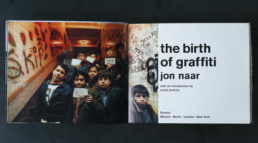 Birth of graffiti book-3