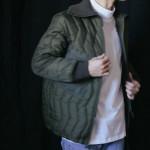 商品の再入荷:ドイツ ミリタリーキルティングジャケット