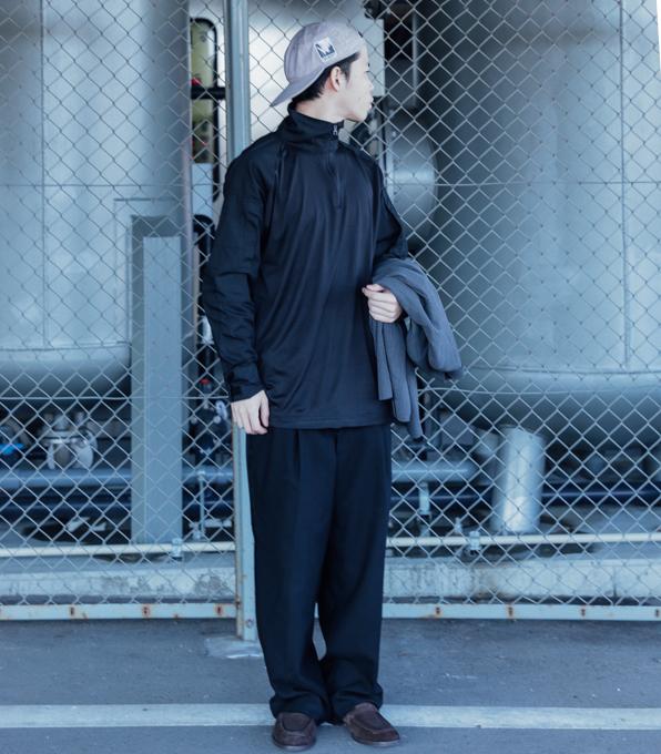 Military zip Blk Shirt-2