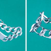 Silver bracelet 222