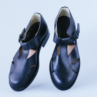 Leather Sandales-4