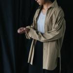 商品の紹介:ビンテージ ミリタリーシャツ、デニムジャケット