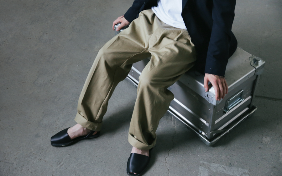 French Chino Trousers-1