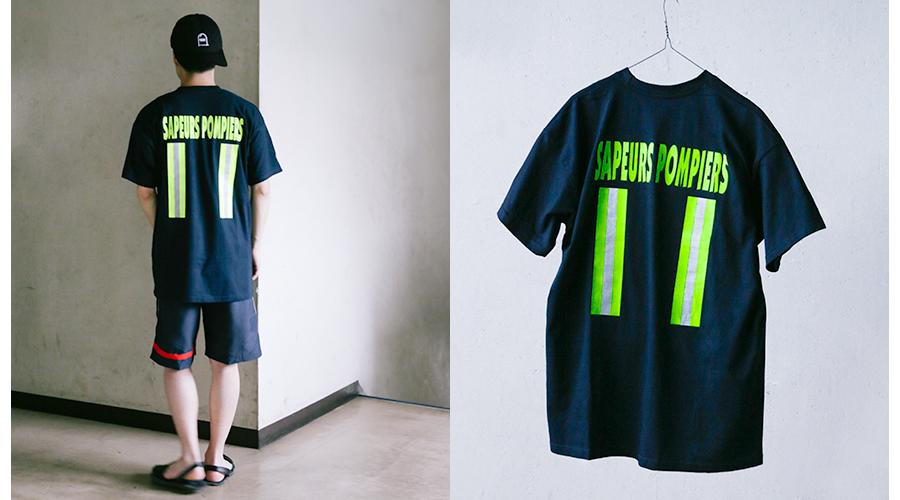 商品の入荷:デッドストック ファイヤーファイターTシャツ