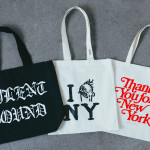 商品の入荷;トートバッグの紹介(Thank You for NewYork , Silent Sound Books , I miss NY)