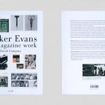 書籍の紹介: Walker Evans the magazine work by David Campany