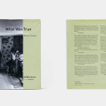 書籍の紹介:What Was True by William Gedney