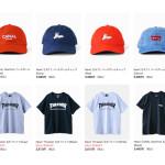 ウェブストア更新:CANAL Drtyキャップ 、THRASHER Tシャツ など