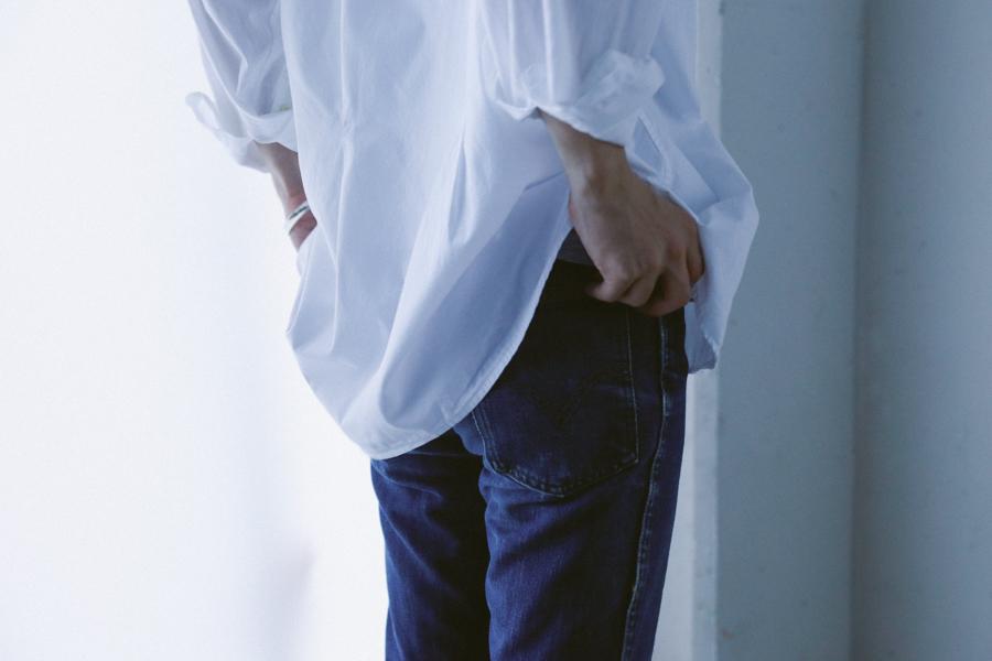 Italian Stand collar Shirt-1