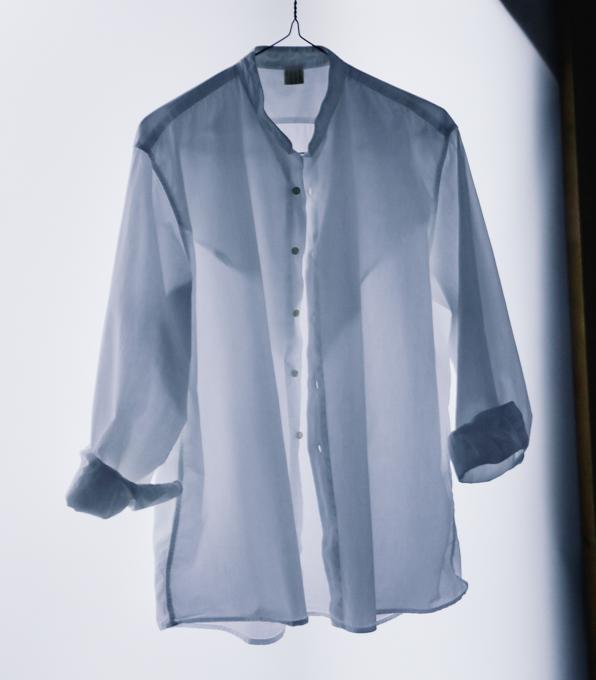Italian Stand collar Shirt-5