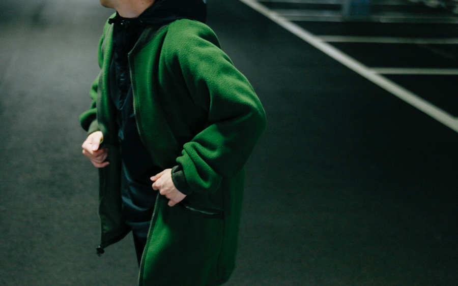 商品の入荷:UK軍 デッドストック 1990年代 フリースジャケット