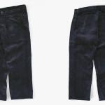 商品の入荷:TUKI Patched Work Pants ( ブラック コーデュロイパンツ)