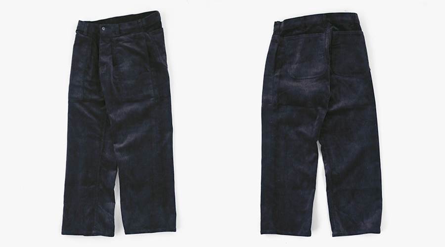 TUKI patched work pants2-1