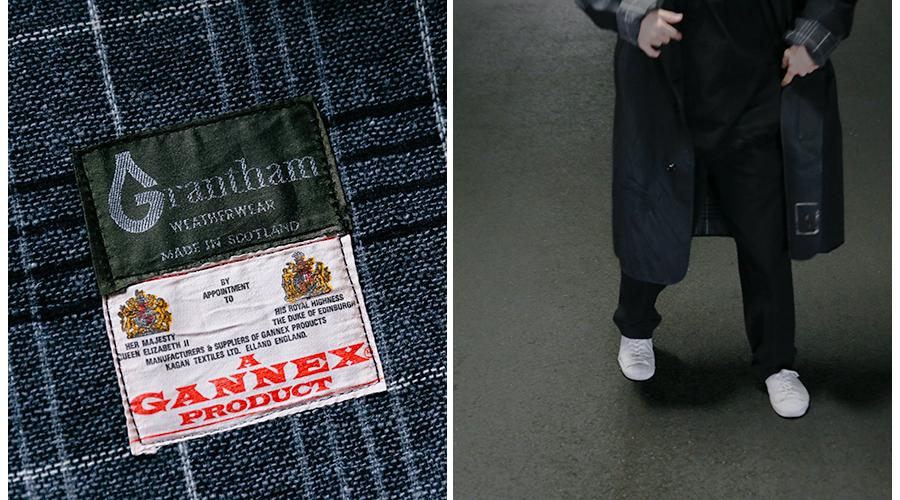 商品の入荷:Grantham Weather Wear ゴム引きコート