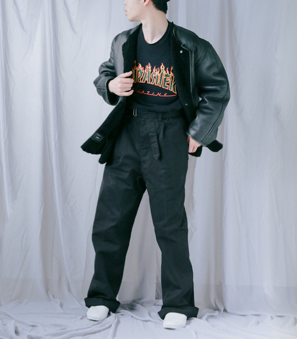 IT Military Waist-Belt Pants-4