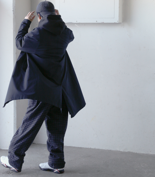 Wook Check Patetrn Trousers-3