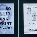 書籍の紹介:Oh So Pretty , Punk in Print 1976-1980