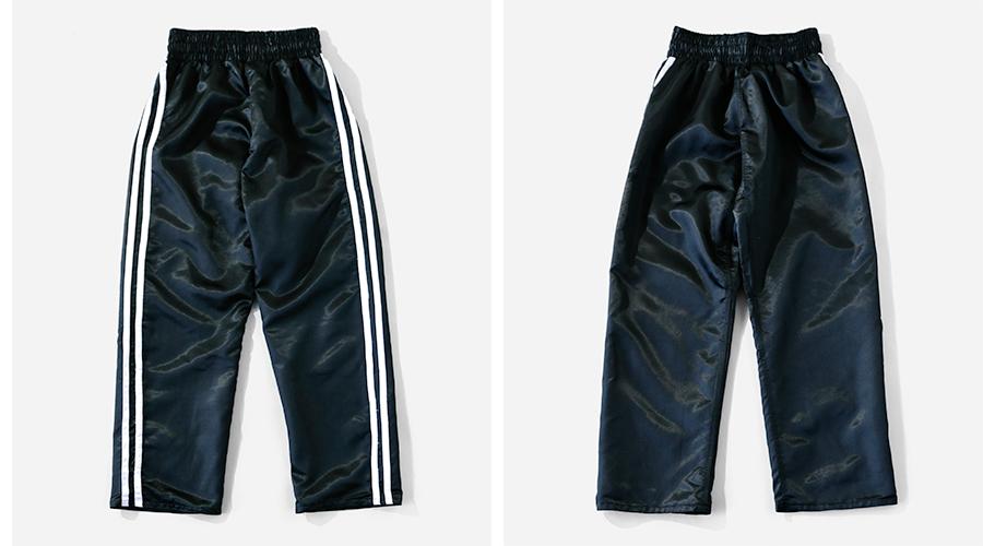 商品の入荷:Martial Arts Trousers (マーシャルアーツ ラインパンツ )