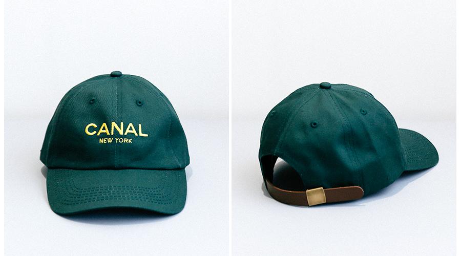 商品の入荷:Canal New york ハーフジップ スウェット (ダナキャラン パロディーロゴ)