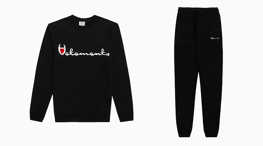 vetements champion
