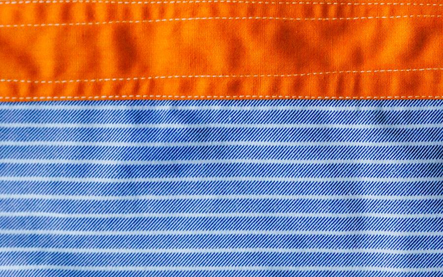 商品の入荷:デッドストック ストライプ柄 プリズナーシャツ