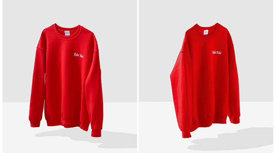 Double Trouble sweat red