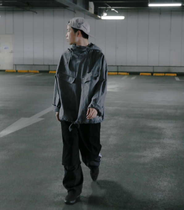 Snow Anorak Grey-1