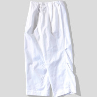 TUKI Pajama Pants White-1