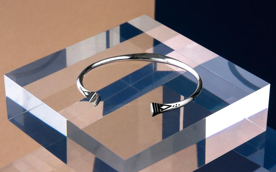 Touareg Silver Bracelet 11-1