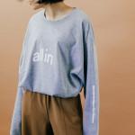 商品の紹介:レディース スタイリング (allin × Champion Tシャツ、シルクシャツ)
