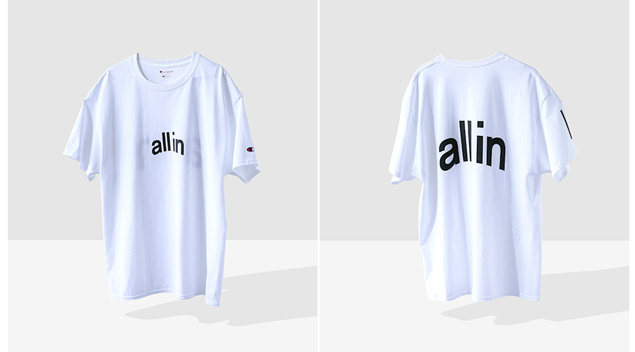 all in Champion White