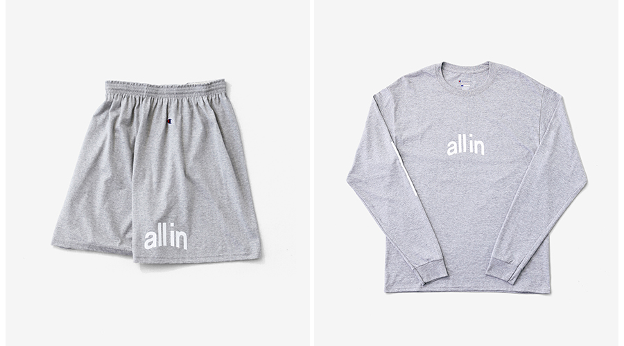 all in Champion grey