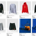 ウェブストアの更新:all in Tシャツ、スウェットパーカー、ショーツ、アイウェアなど