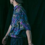 商品の入荷:デッドストック 1990年代 アブストラクト柄 シャツ